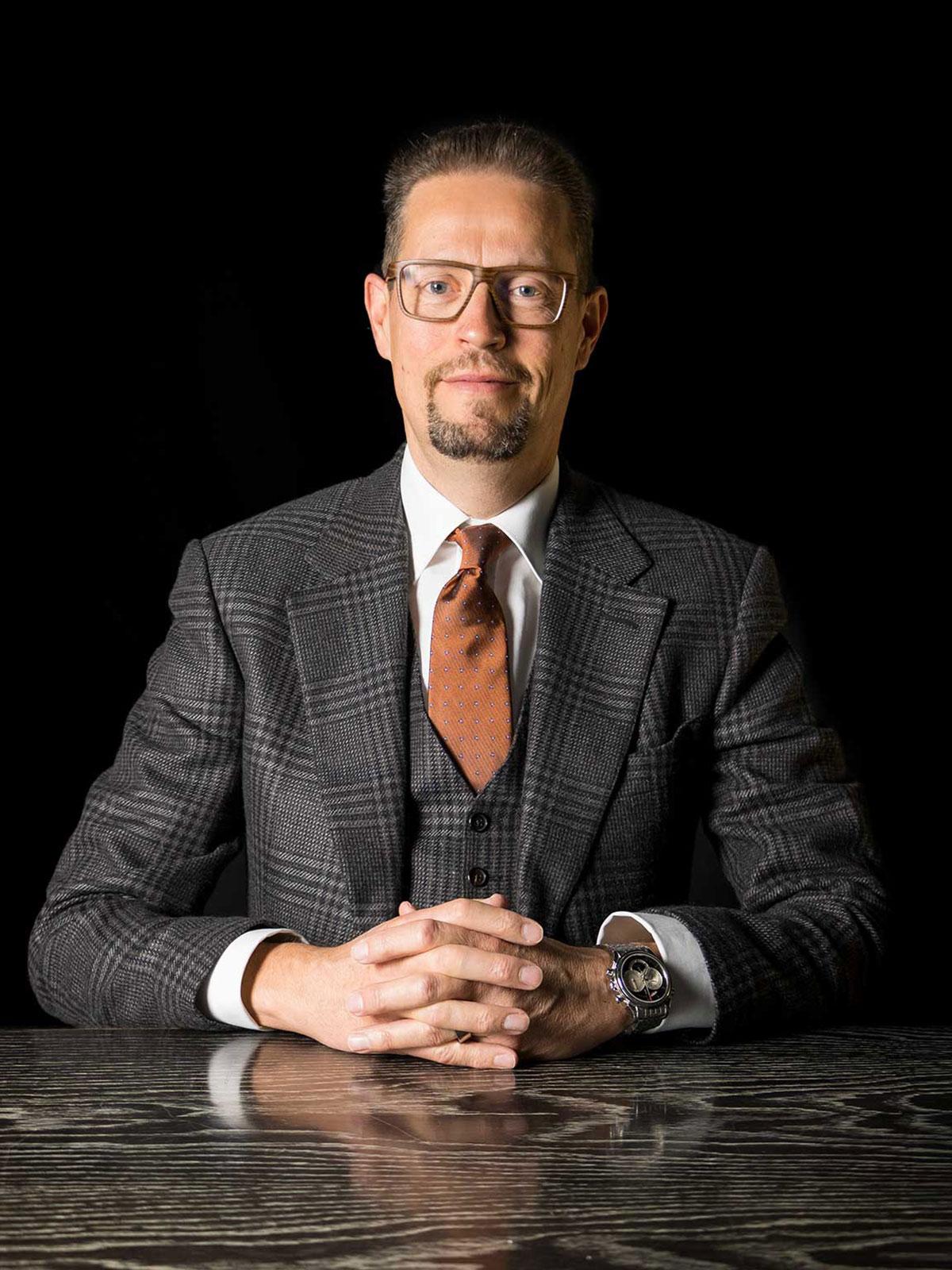 Kai Hebel, service extérieur des ventes et partenaire, avd goldach sa